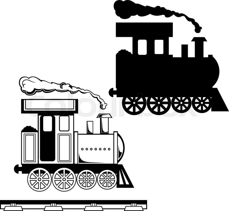 800x738 Wild West Steam Locomotive. Toy Train. Isolated On White