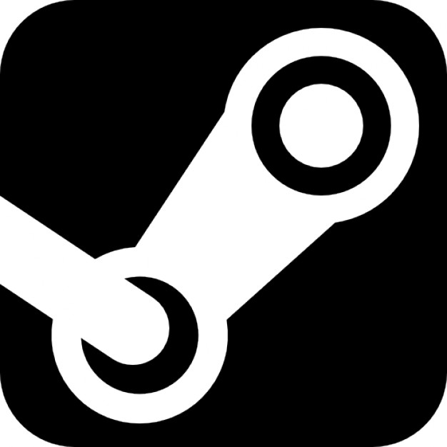 626x626 Steam Logo, Games Website Icons Free Download