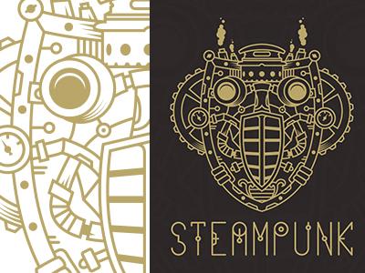 400x300 Steampunk Design Process Illustrator + Free Vector By Pixaroma