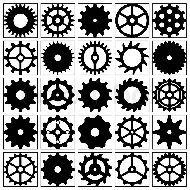 800x800 15 Steampunk Gears Free Vector Art Images