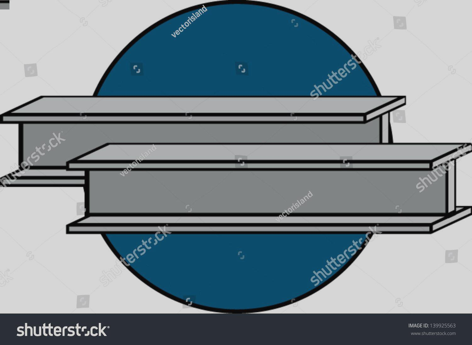 1500x1096 Steel Beam Clipart