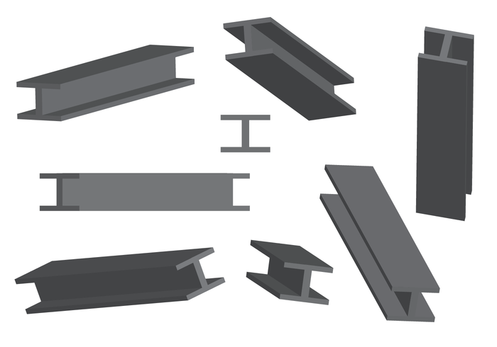 700x490 Free Steel Beam Vector