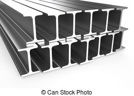 272x194 Steel Beams Clipart