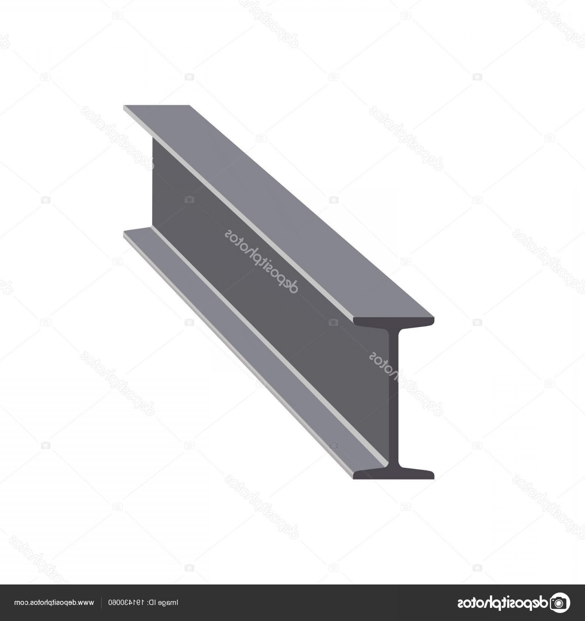 1920x2040 Stock Illustration Steel I Beam Vector Lazttweet