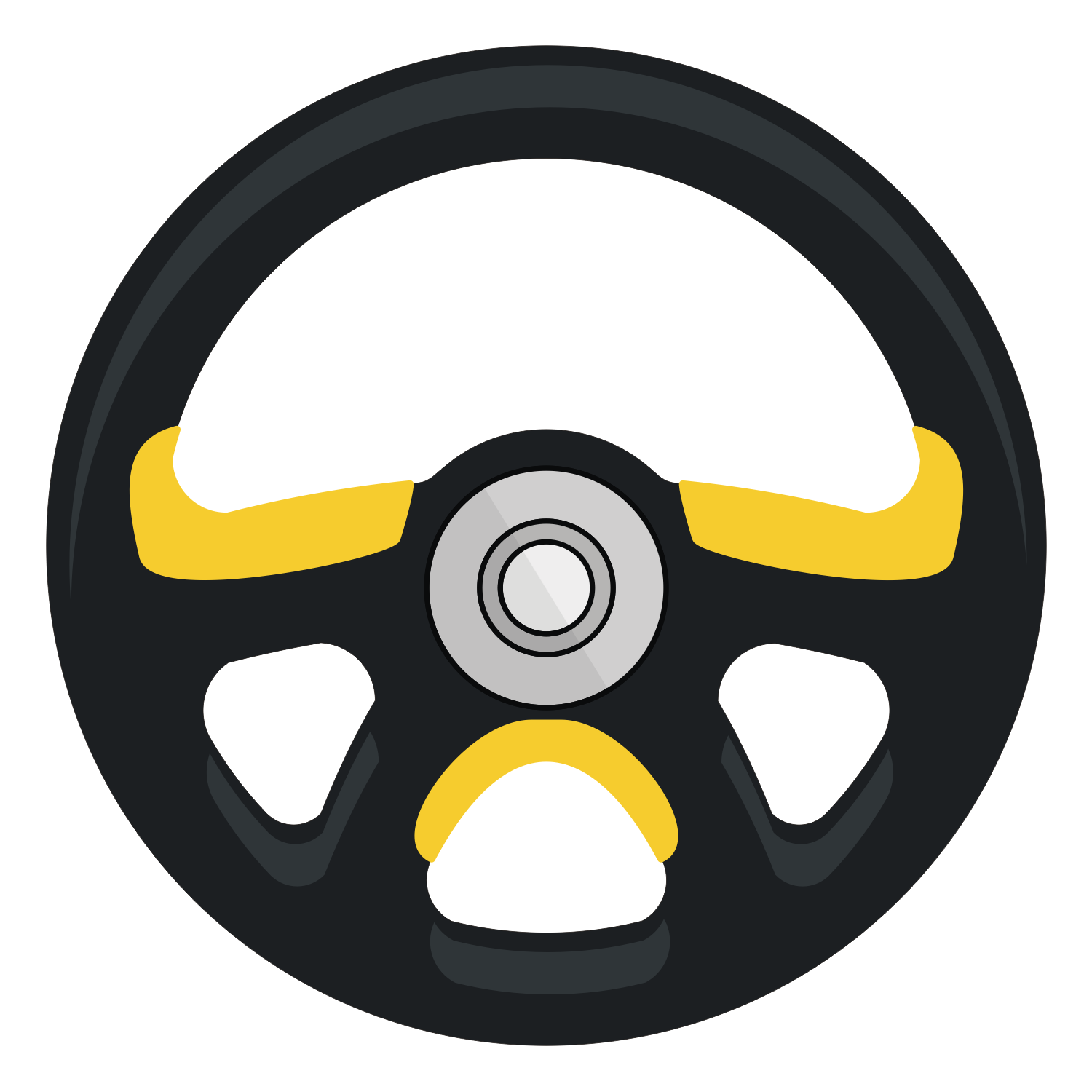 1500x1500 Vector For Free Use Steering Wheel