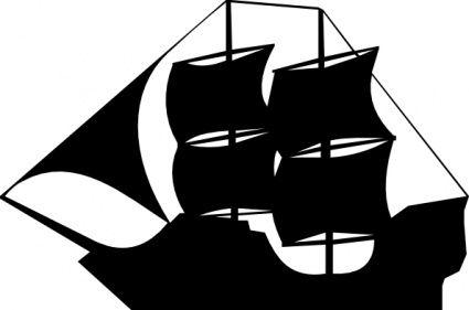 425x281 Pirate Ship Steering Wheel Vector