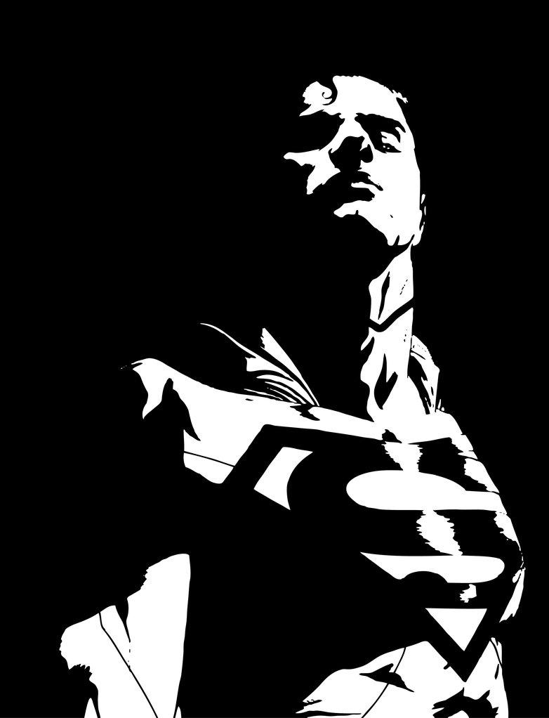 782x1022 Superman Stencil Vector Art By Sartauzumaki