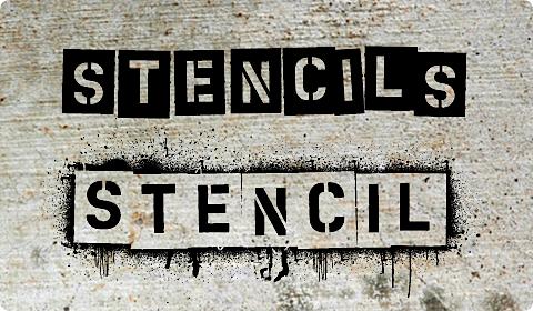 480x280 Vector Stencils
