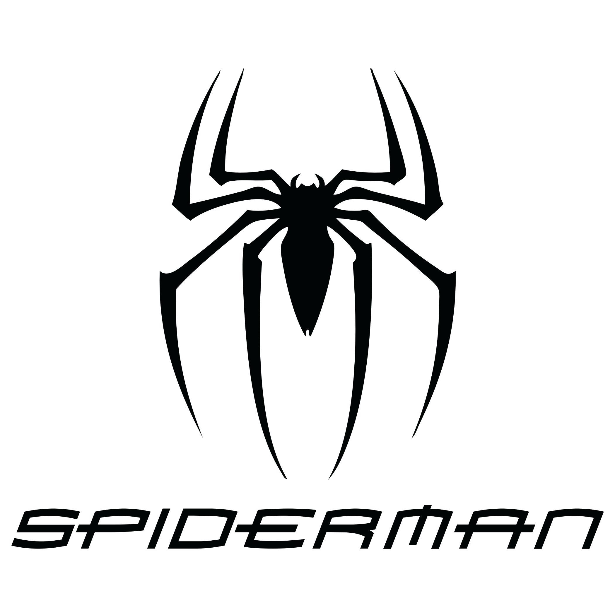 2100x2100 Printable Printable Spider Man Stencils Logo Vector In Format Art