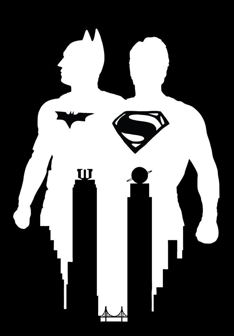747x1070 Batman Vs Superman Stencil Vector Art By Sartauzumaki