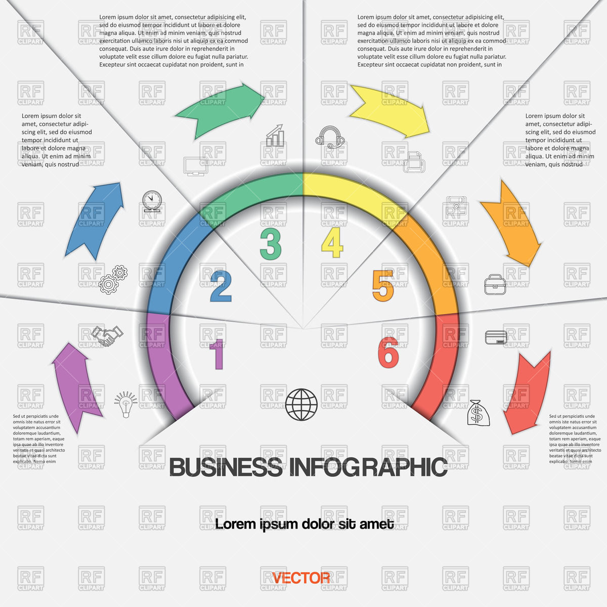 1200x1200 Infographic For Success Business