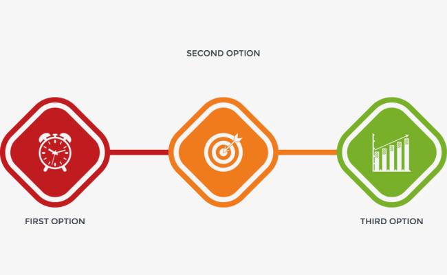 650x400 Vector Creative Design Diagram Directory Quadrilateral Step