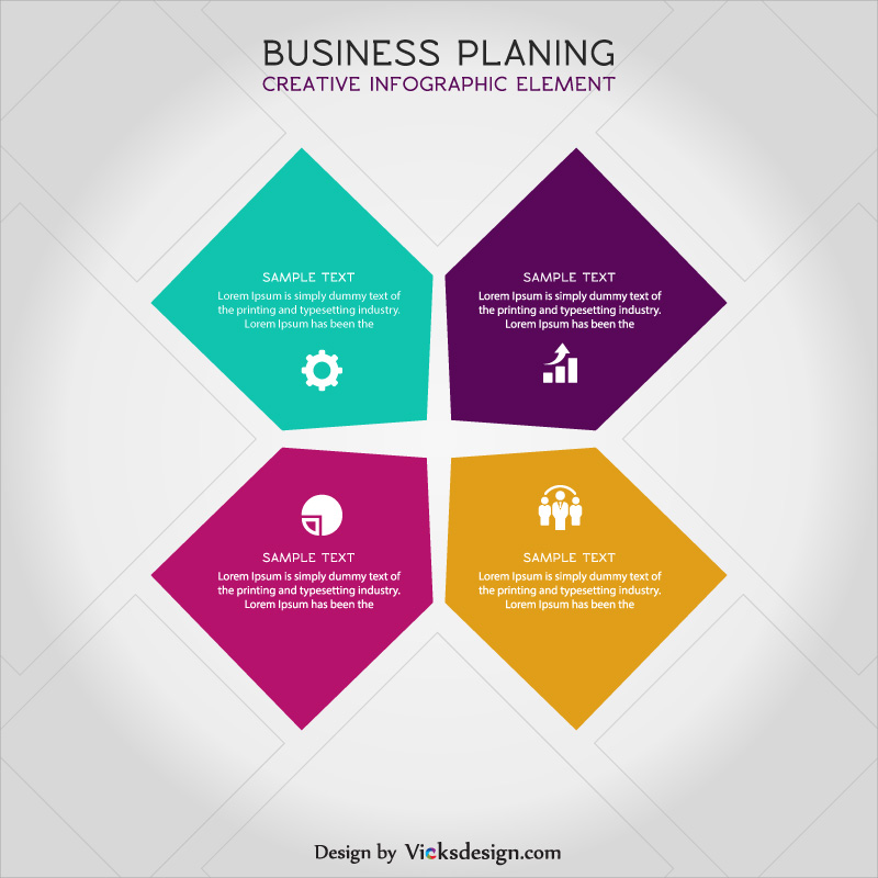 800x800 Business Planing Creative Infographic Vector, Creative Idea