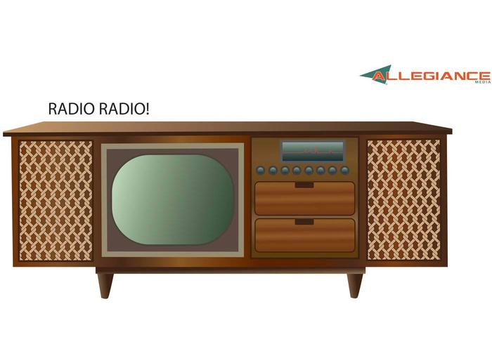 700x490 Antique Stereo And Television Vector