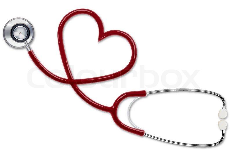 800x533 Illustration Of Stethoscope Making Shape Of Heart Stock Vector