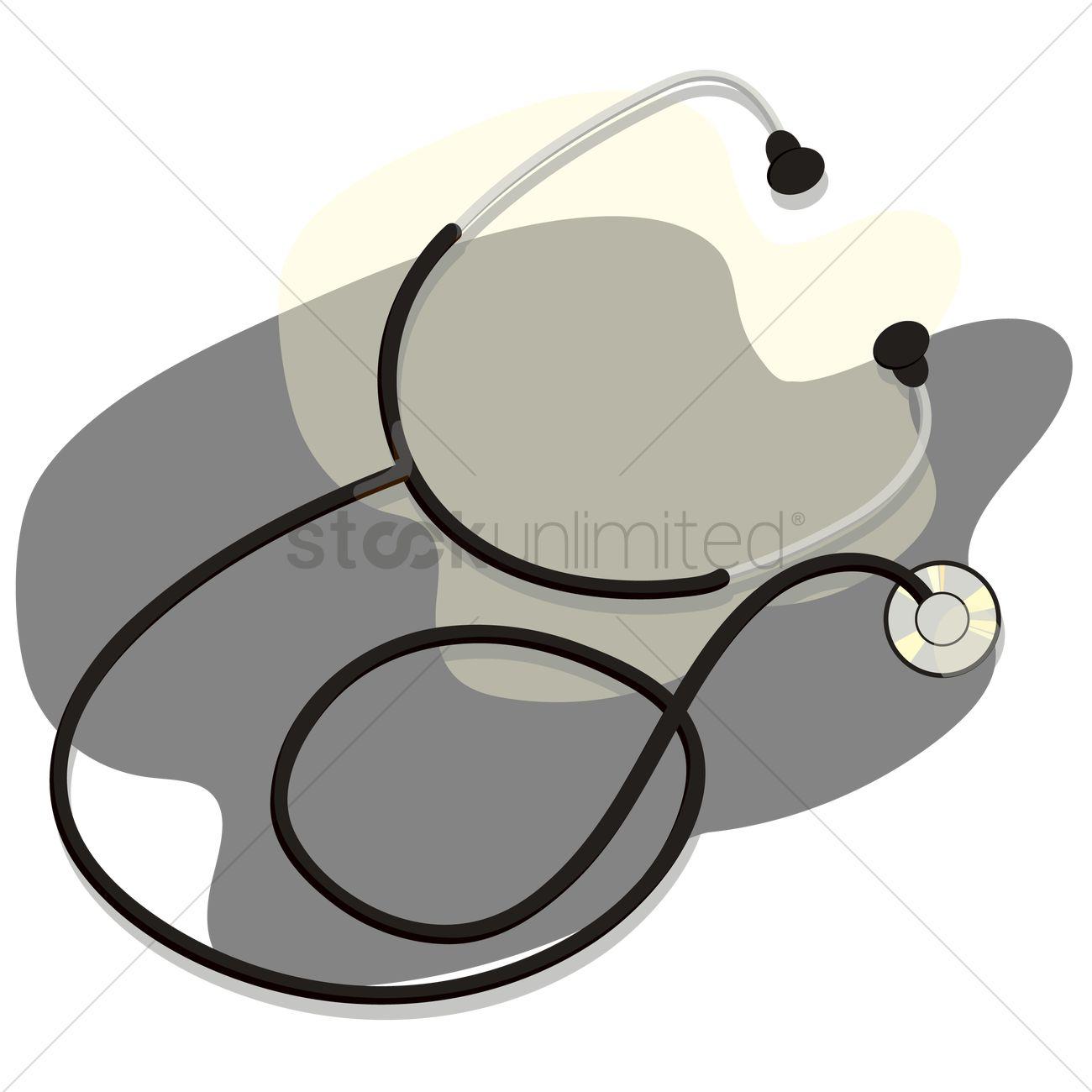 1300x1300 Free Stethoscope Vector Image