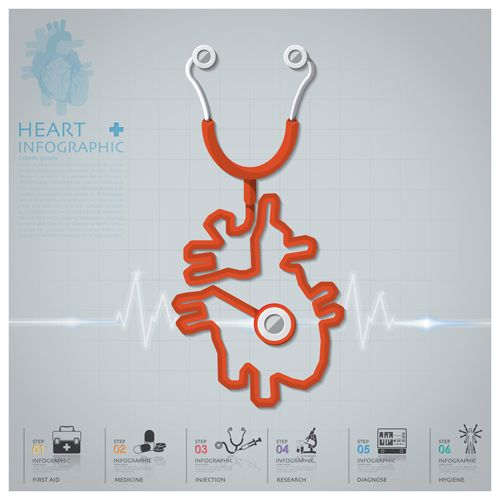 500x500 Stethoscope Vector For Free Download Idea Stethoscope