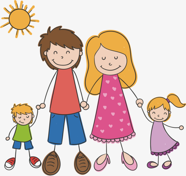 650x614 Happy Family, Family Vector, Family Clipart, Cartoon Png And