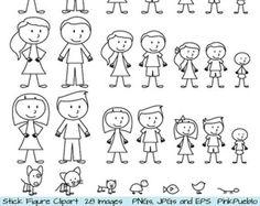 236x187 Stick Figure Pets Clipart Clip Art Vectors, Stick Family Animals