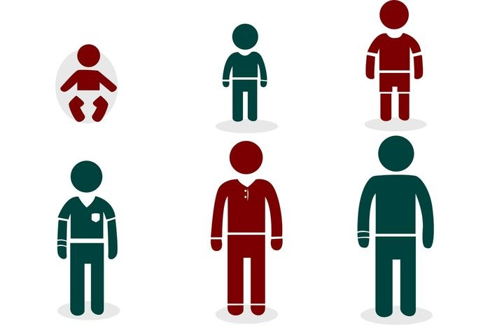 700x468 Growing Man Stick Figure Icons Vector Pack Designrockr