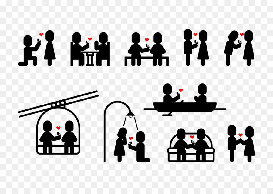 900x640 Illustration Vector Graphics Stick Figure Image Marriage