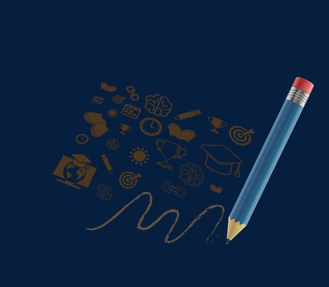 650x567 Pencil Drawing Stick Figure Vector Material, Pencil, Stick Figure
