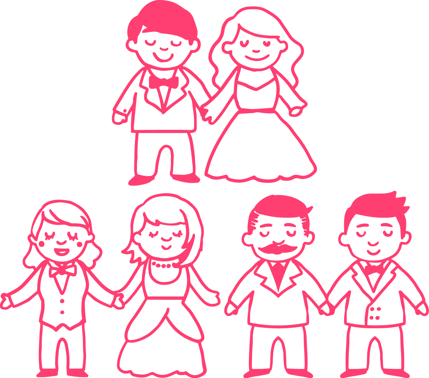 1481x1305 Drawing Marriage Stick Figure