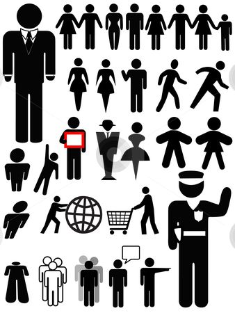 338x450 People In The Distance Photos Or Art Symbol Person Silhouette