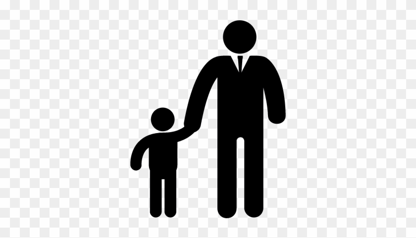 840x481 Father And Son Vector
