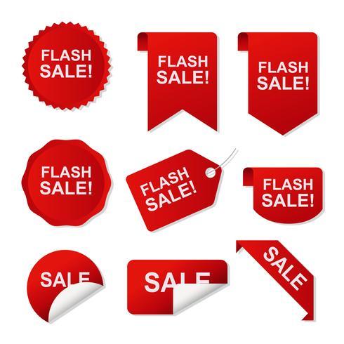 490x490 Price Flash Sticker Vector