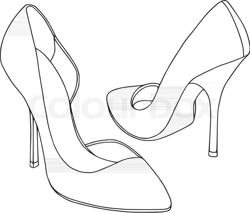 800x682 Ladies Shoes Set