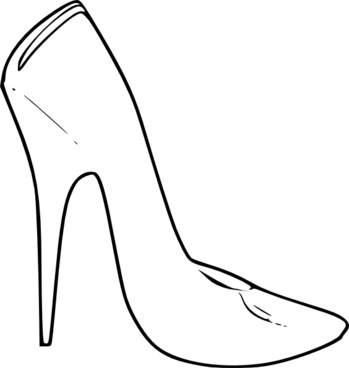349x368 Stiletto Vector Free Vector Download (15 Free Vector) For