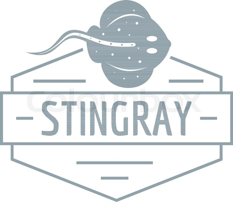 800x696 Stingray Logo. Simple Illustration Of Stingray Vector Logo For Web