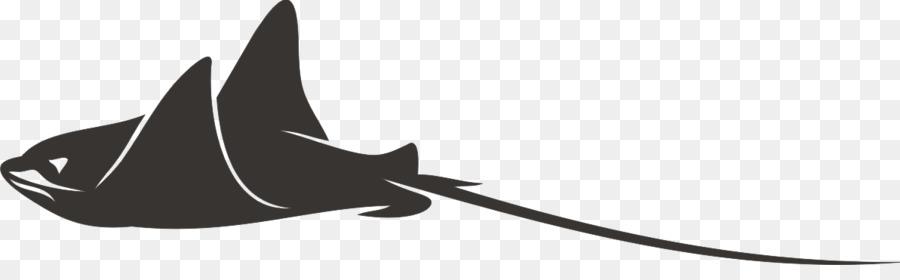 900x280 Giant Oceanic Manta Ray Vector Graphics Stingray Batoids Clip Art