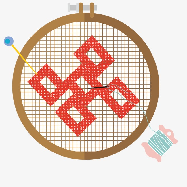 650x650 Vector Sewing Stitch, Stitch Vector, Chinese Style, Retro Png And