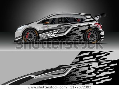 450x341 Find Car Wrap Graphic Vector. Abstract Stripe Racing Background