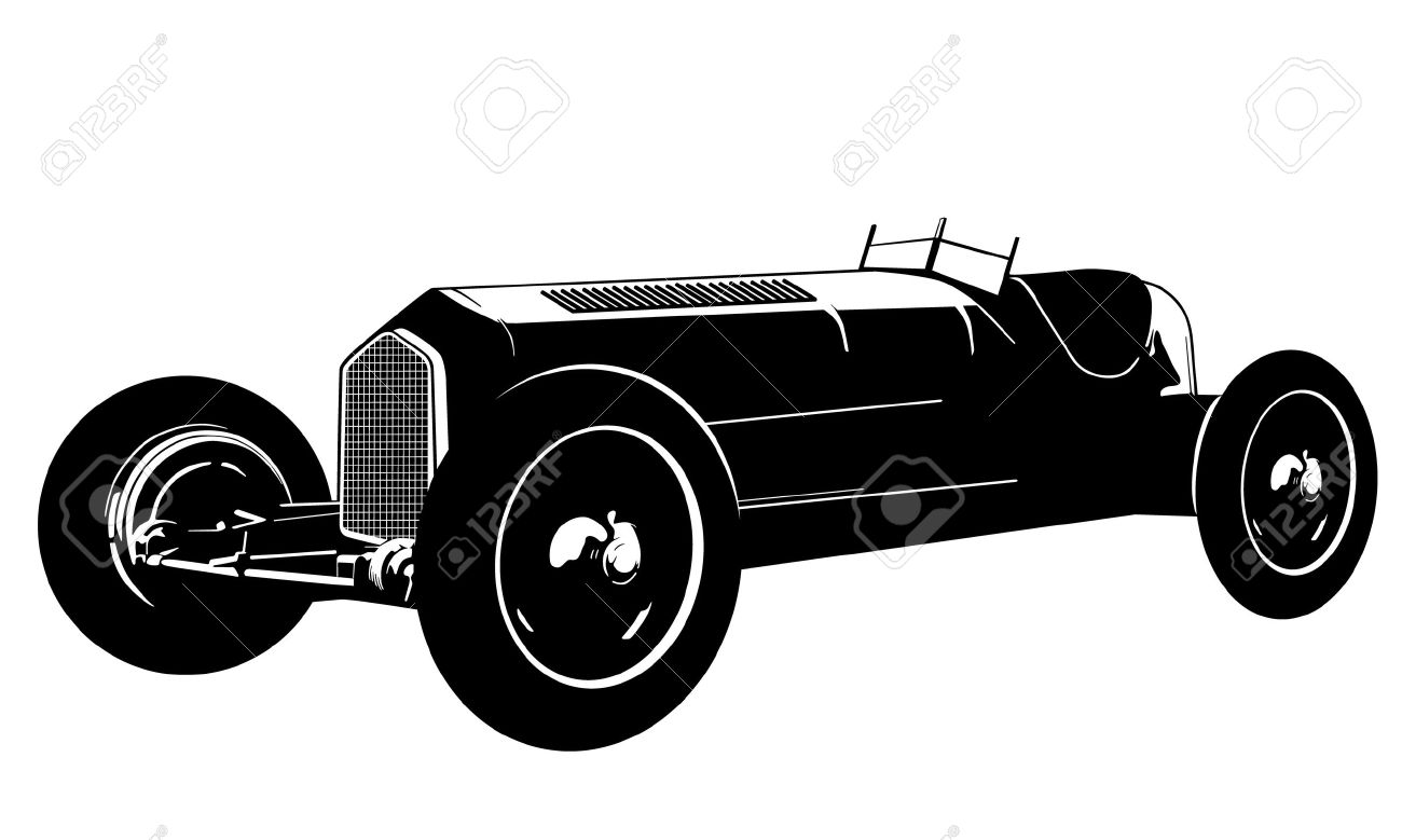 1300x779 Race Car Clipart Old Fashioned Car