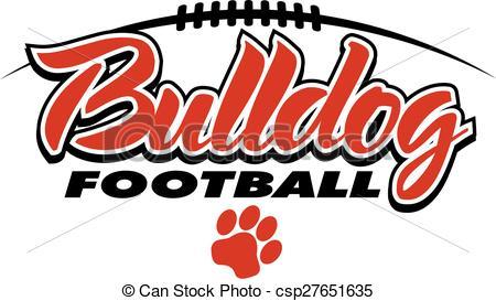 450x273 Bulldog Clipart Football Lace