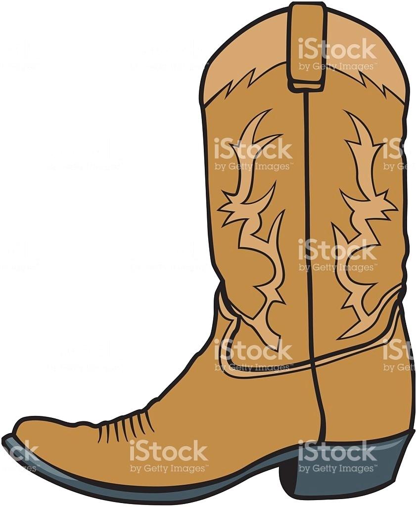 843x1024 Cowboy Boots Clipart Free Inspirational Boot Stock Vector Art Amp