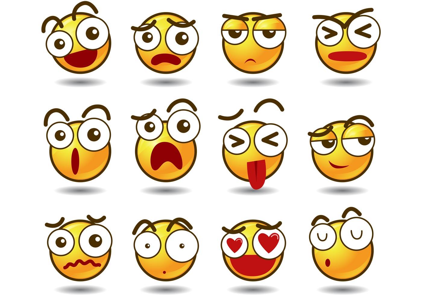 1400x980 Emoji Vectors