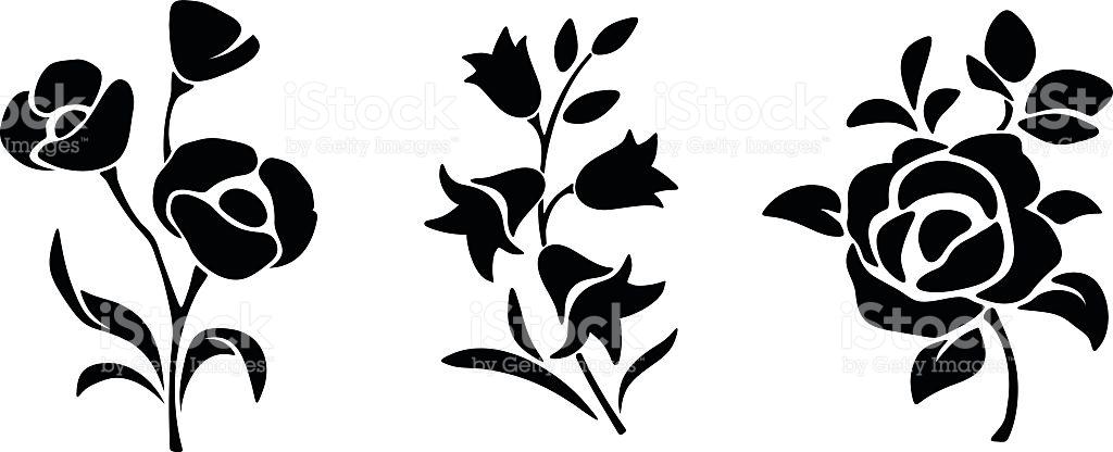 1024x416 Flower Vector Art Gallery Images)