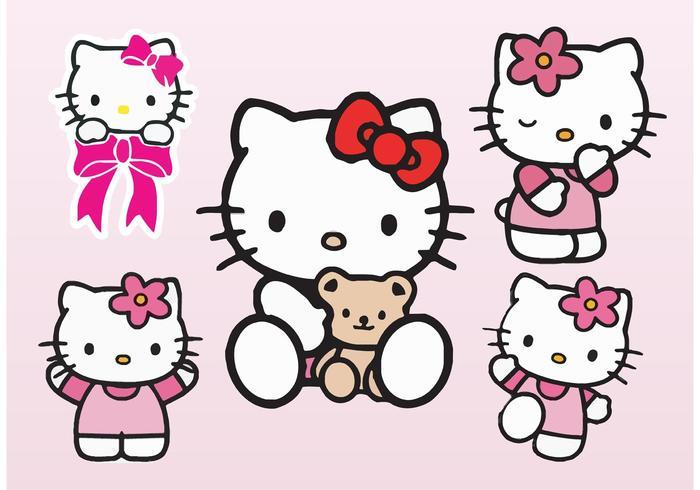 700x490 Hello Kitty Vectors