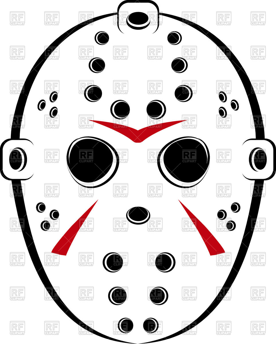 963x1200 Hockey Mask Vector Image Vector Artwork Of Sport And Leisure