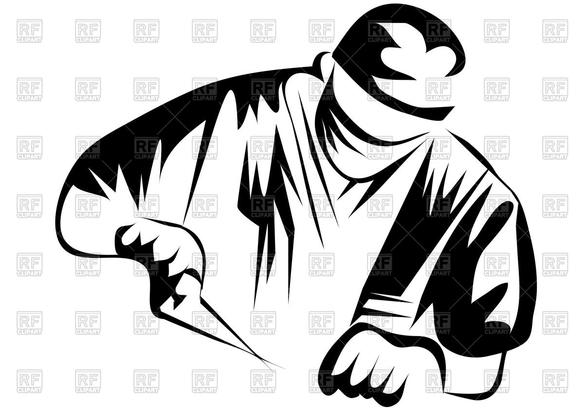 1200x849 Silhouette Of Doctor (Surgeon) Vector Image Vector Artwork Of