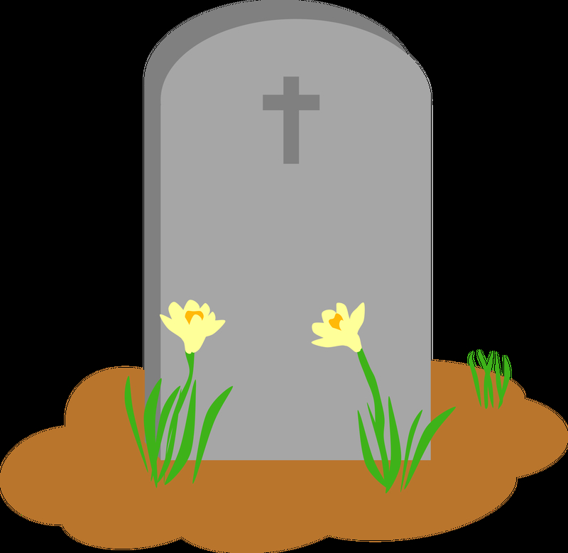 800x779 Tombstone And Grave Vector Art Image