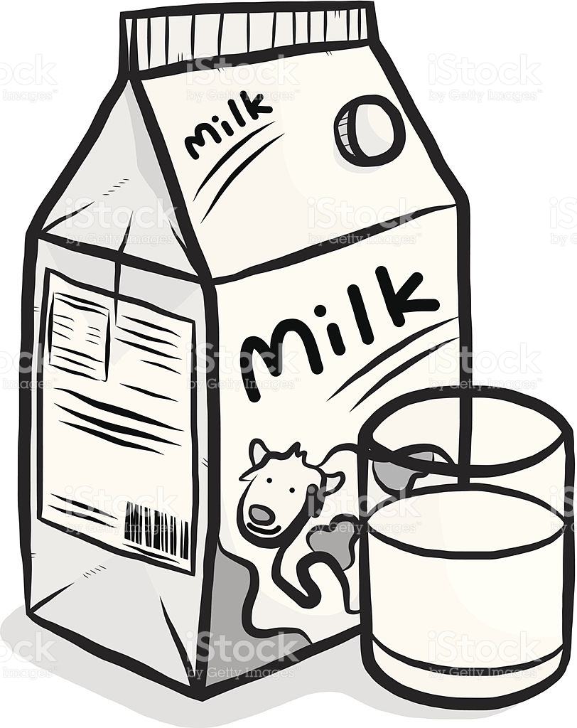 812x1024 Collection Of Free Deary Clipart Milk Carton. Download On Ubisafe