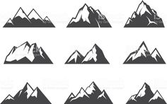 236x147 84 Best Mountain Vector Images In 2018 Free Vector