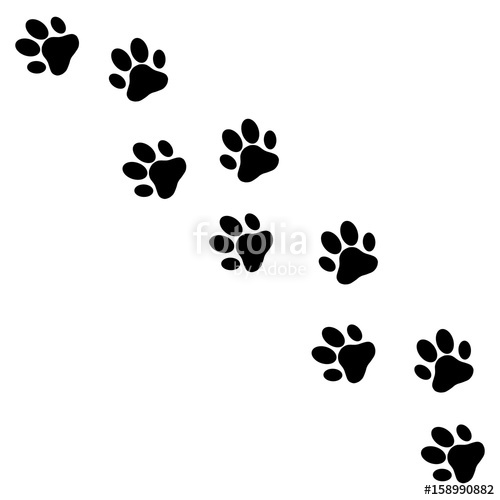 500x500 Paw Print Stock S Royalty Free Business Free Vector Paw Print