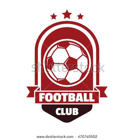 450x470 Football Badge Logo Template Collection Team Templates Photo Stock