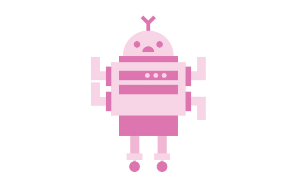 580x378 Robot Illustration Free Vector Set No Cost Royalty Free Stock